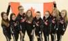 Rosie MacLennan et sept gymnastes canadiens sur les appareils de Rio2016