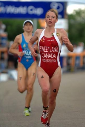 Kirsten Sweetland (Photo : Union internationale de triathlon)