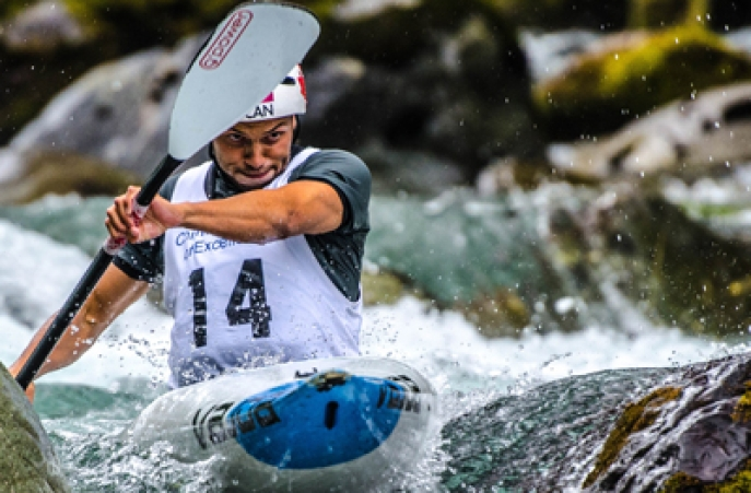 Michael Tayler aux Nationaux de Canoë Kayak Canada 2016 ( Photot : Canoë Kayak Canada)