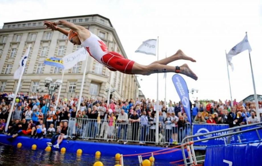 Tyler Mislawchuk (Photo : Union internationale de triathlon)