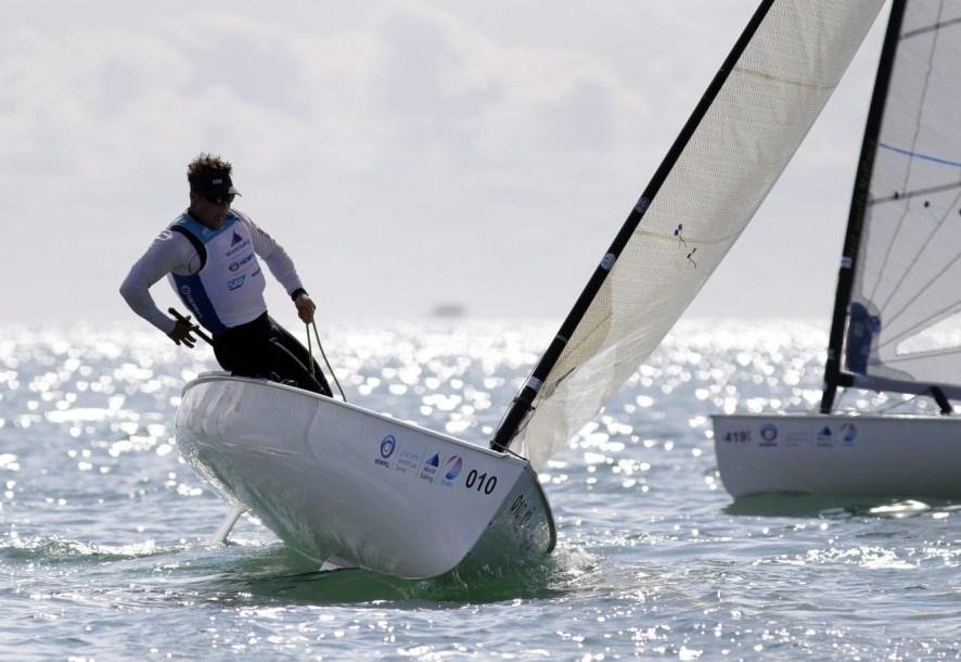 Tom Ramshaw navigue