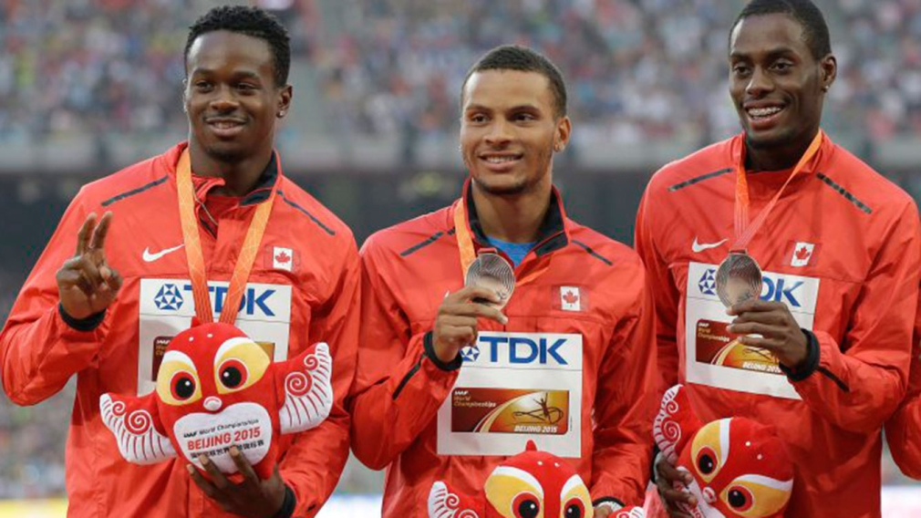 Destination Rio : Aaron Brown, Andre De Grasse et Brendon Rodney
