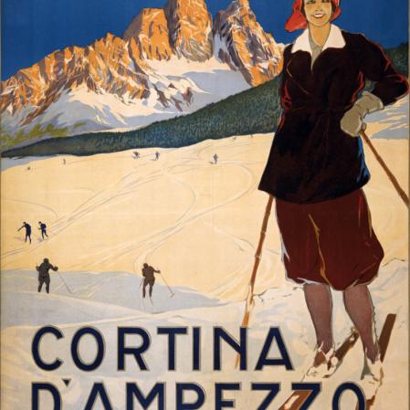 Jeux de Coltina d'Appezzo 1956
