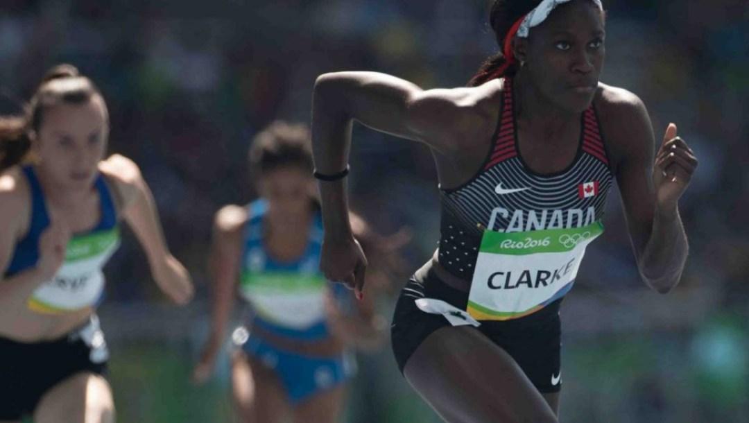 Equipe Canada - athletisme - Kendra Clarke