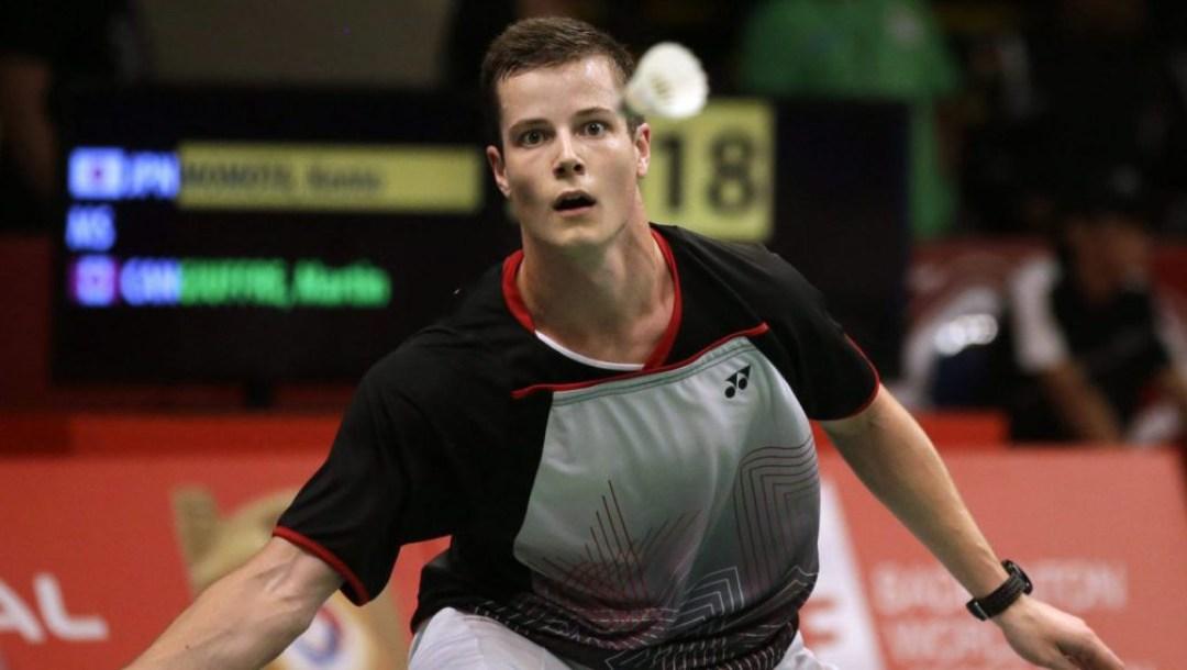 Equipe Canada - badminton - Martin Giuffre