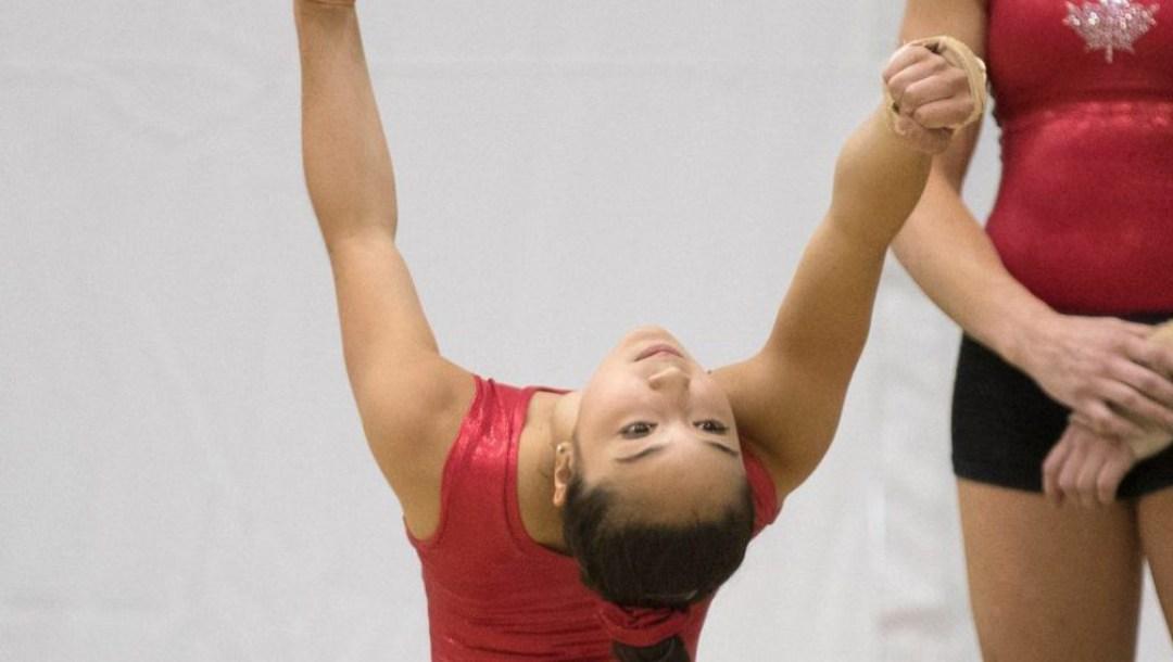 Equipe Canada - gymnastique - rose-kaying woo