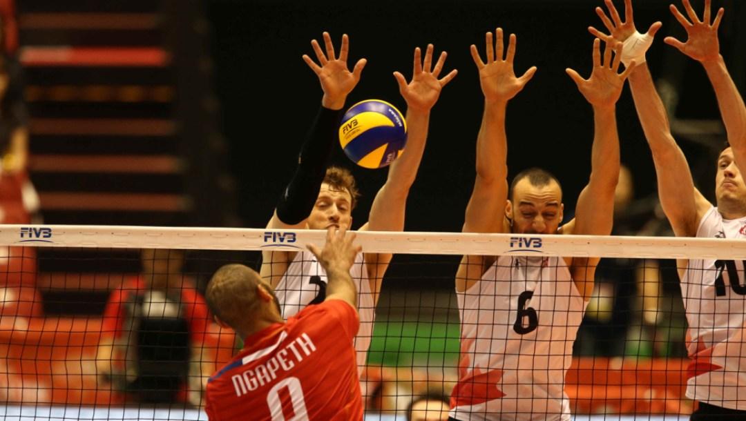 Equipe Canada - volleyball - Jay Blankenau
