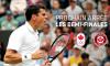 Milos Raonic en demi-finale de Wimbledon
