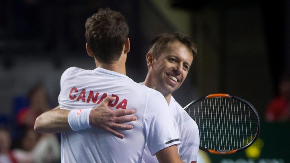 Daniel Nestor se joint à l'équipe canadienne de tennis de Rio 2016