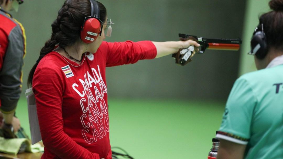 Équipe Canada Lynda Kiejko Tir Rio 2016