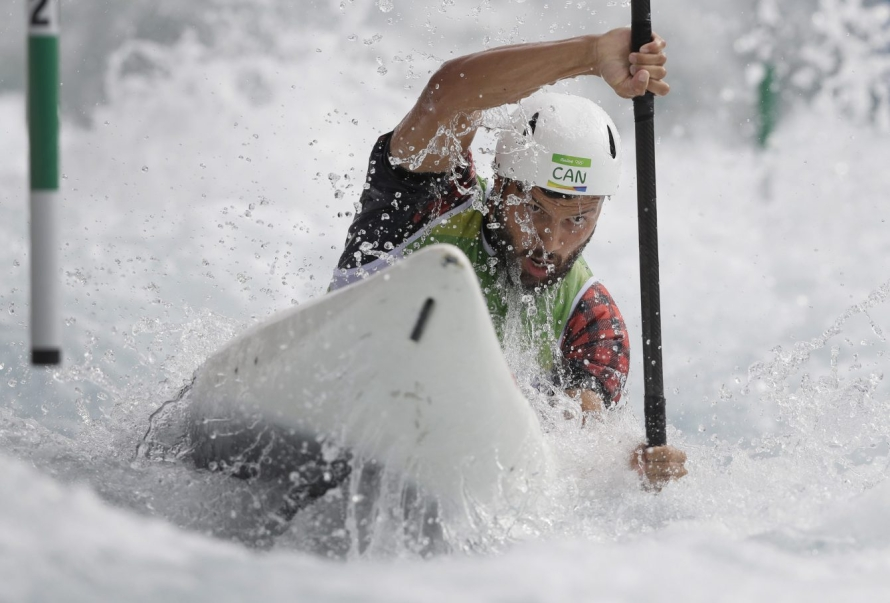 Michael Tayler, Rio 2016. 7 août 2016. Photo du AP /Kirsty Wigglesworth