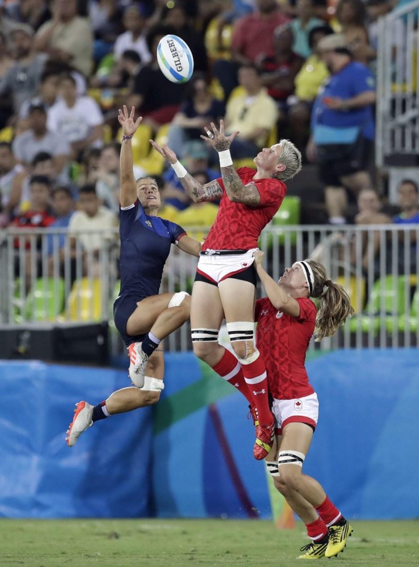 Rugby à 7, Rio 2016. 7 août 2016. Photo du AP /Themba Hadebe
