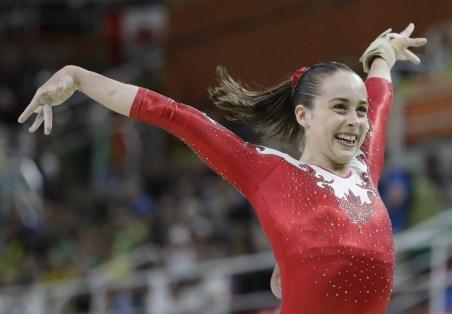 Isabela Onyshko, Rio 2016. 7 août 2016. Photo du AP/Rebecca Blackwell
