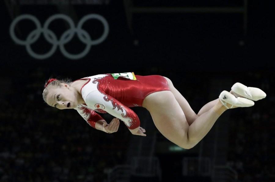 Ellie Black, Rio 2016. 7 août 2016. Photo du AP/Rebecca Blackwell