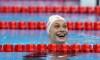 Penny Oleksiak remporte l'or au 50 m papillon sur le circuit Mare Nostrum
