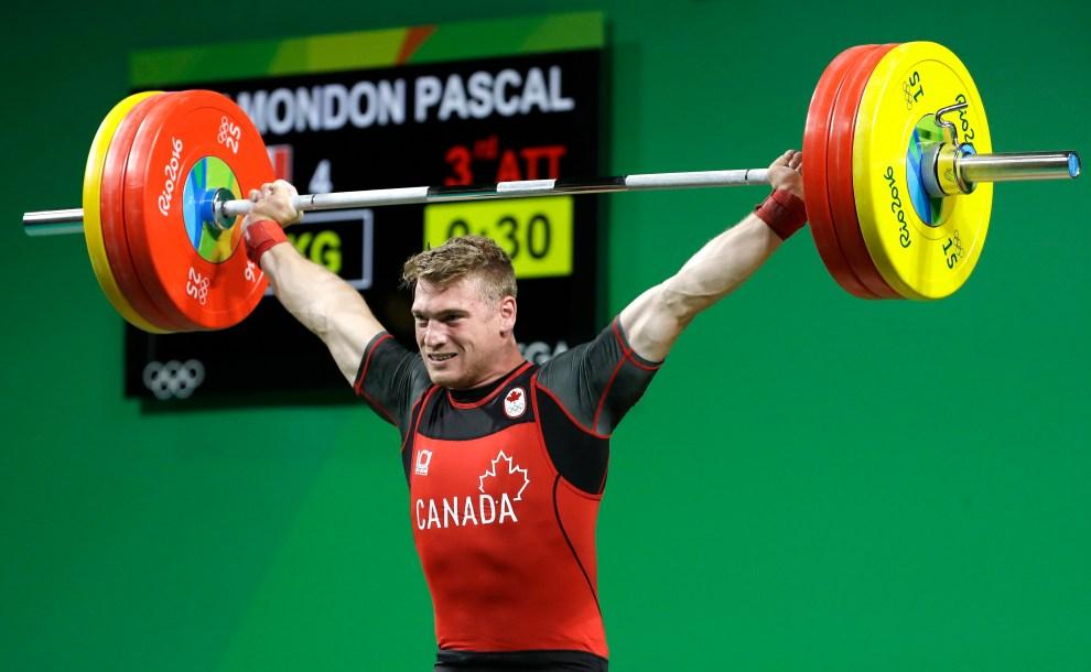 En action chez les moins de 85 kg, Pascal Plamondon participait à ses premiers Jeux olympiques.