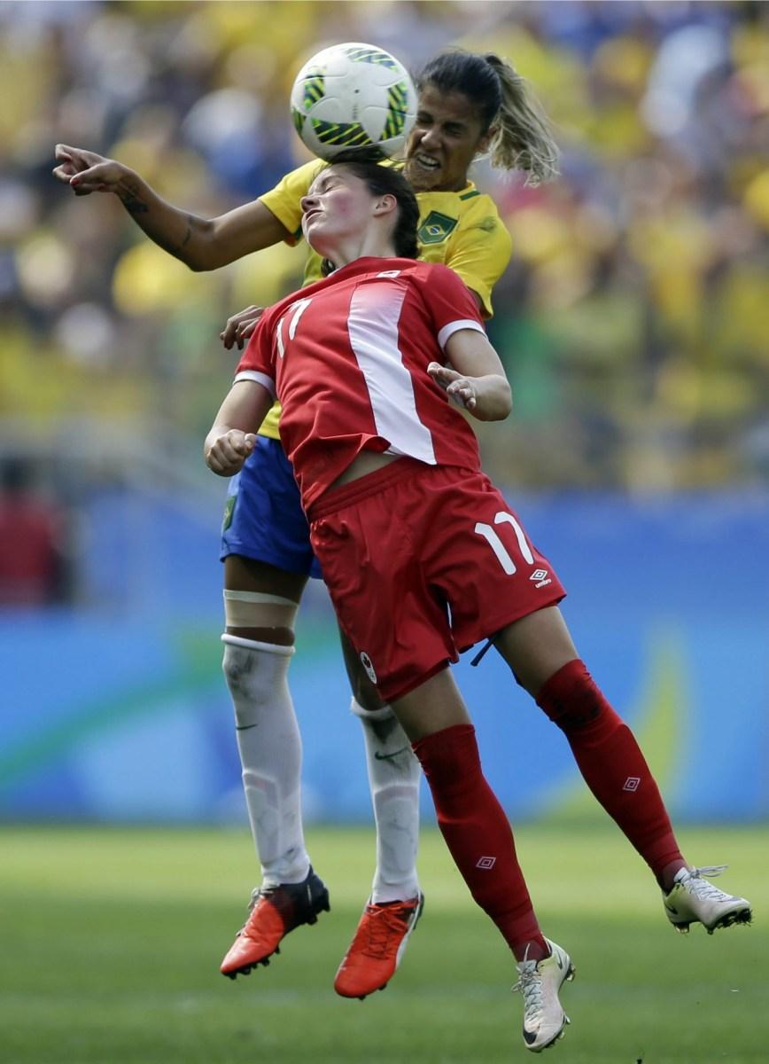 Rio 2016: Équipe féminine de soccer
