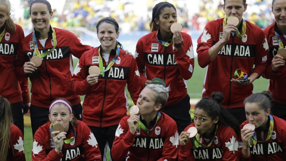 Équipe Canada - Équipe féminine de soccer - Rio 2016