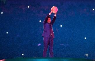 Cérémonie de clôture des Jeux olympiques de 2016, à Rio. (AP Photo/Matt Dunham)