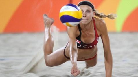 Kristina Valjas, Rio 2016. 7 août 2016. Photo du AP/Petr David Josek