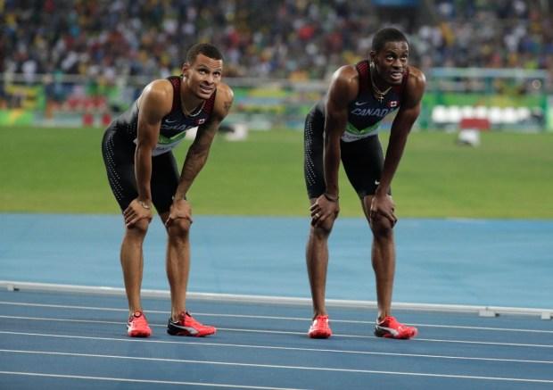 Rio 2016: Hommes - Relais 4 x 100 m