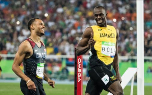 Equipe Canada - athletisme - Andre de Grasse - Rio 2016