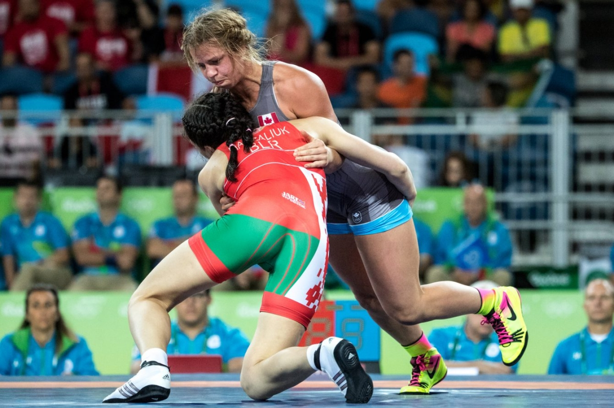 Rio 2016: Erica Wiebe