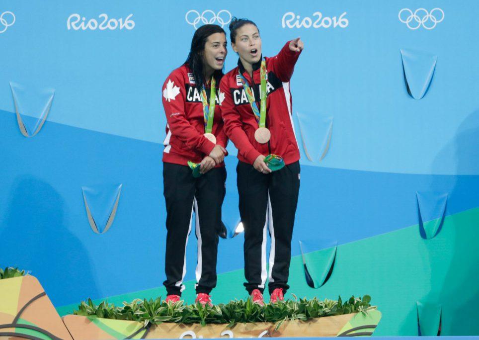 Equipe Canada - plongeon - Meaghan Benfeito - Roseline Filion - Rio 2016