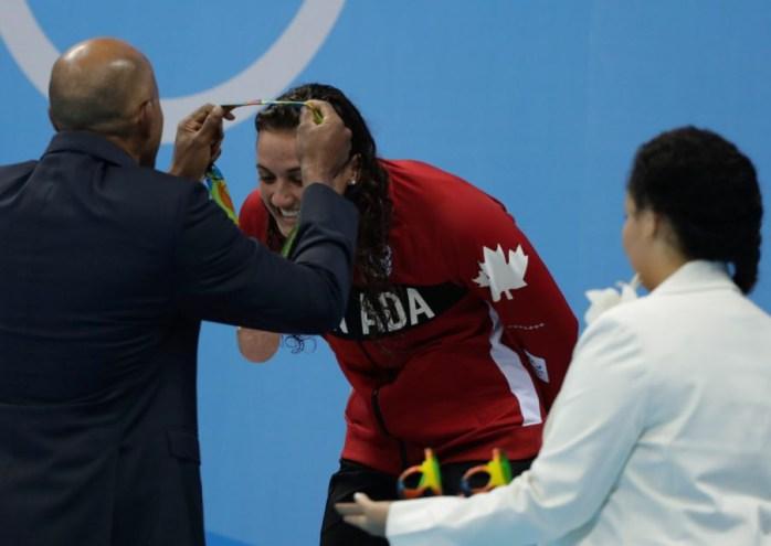 Équipe Canada - natation - Kylie Masse - Rio 2016