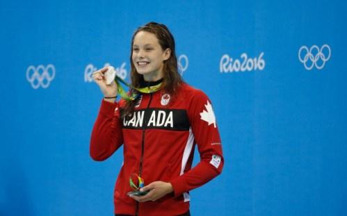 Equipe Canada - natation - Penny Oleksiak - Rio 2016
