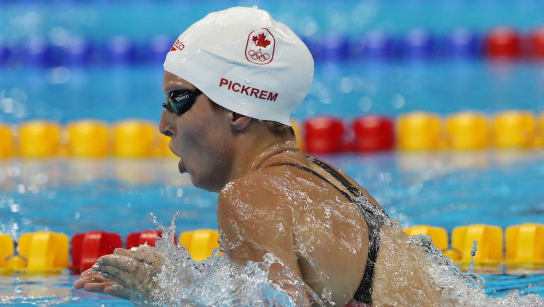 Équipe Canada Sydney Pickrem Natation Rio 2016