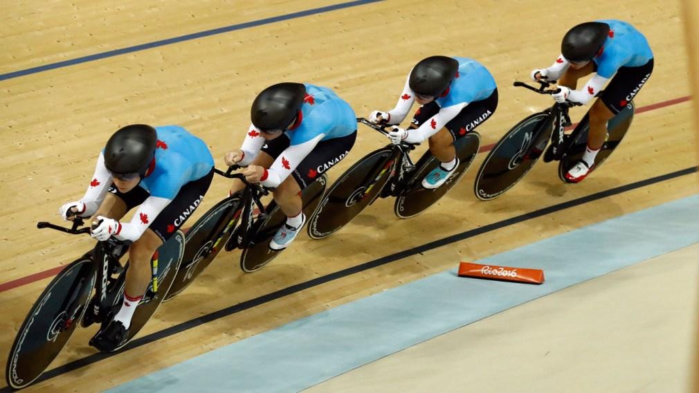 Rio 2016 : Les Canadiennes raflent le bronze à la poursuite par équipes