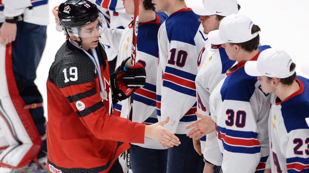 Le Canada conclut le Mondial junior avec une médaille d'argent