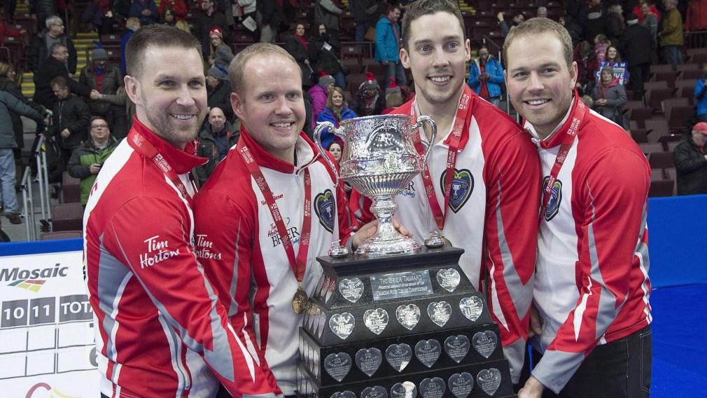 Le Canada confiant à l'aube des Mondiaux de curling masculin