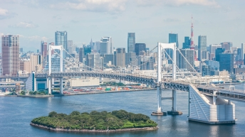 Le pont Rainbow de Tokyo