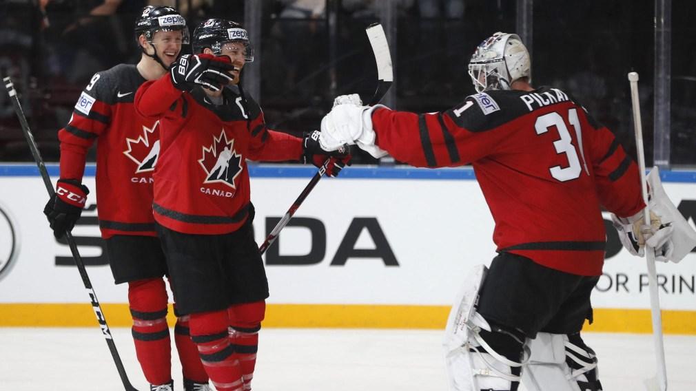 Le Canada conclut la ronde préliminaire du Mondial de hockey avec une victoire de 5-2 sur la Finlande