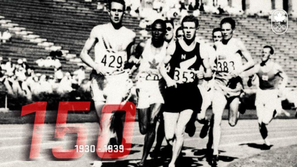 150 ans de sport canadien: Les années 30