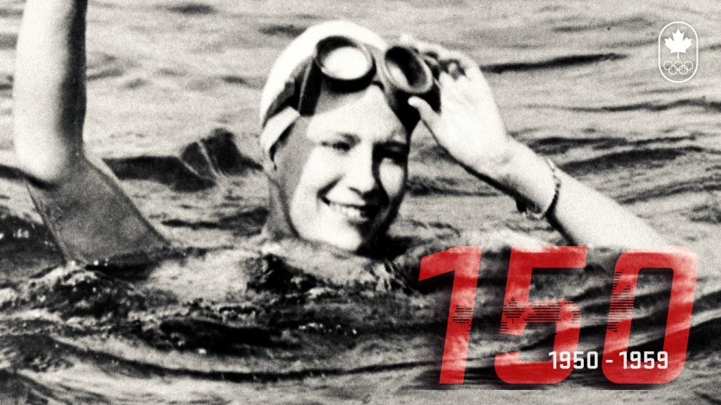 150 ans de sport canadien: Les années 50