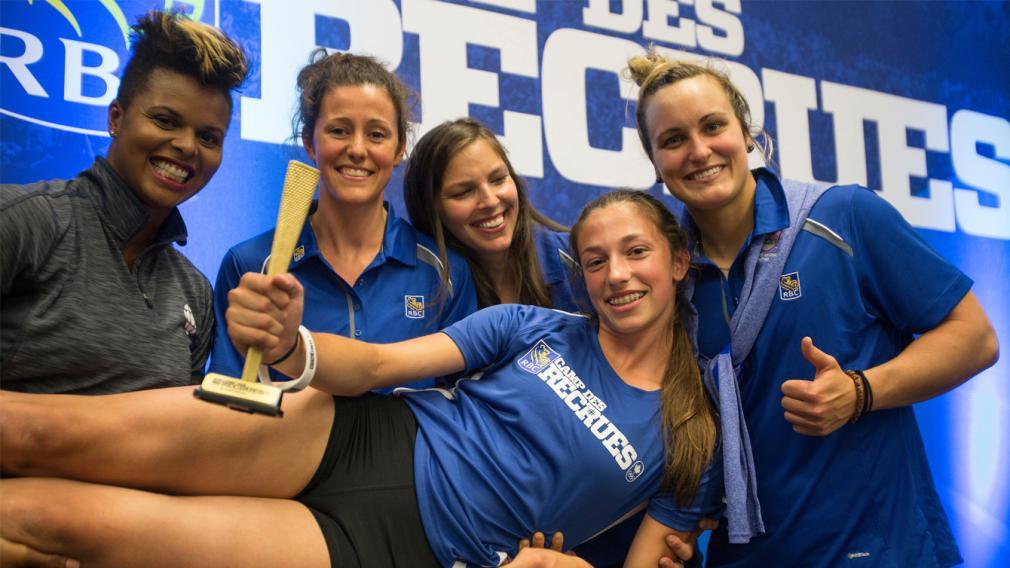 Le Camp des recrues RBC déniche cinq autres athlètes ayant un potentiel olympique