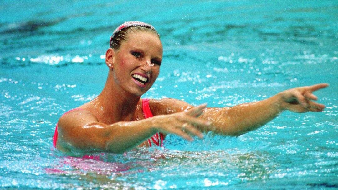 Equipe Canada - nage synchronise - Carolyn Waldo - Seoul 1988