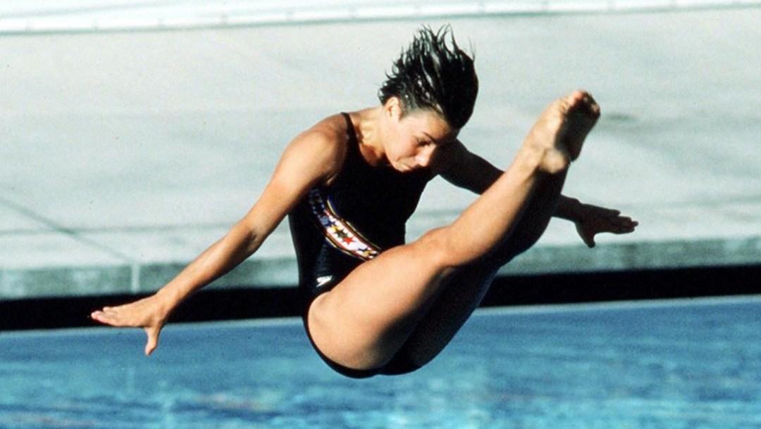 Equipe Canada - plongeon - Sylvie Bernier - Los Angeles 1984