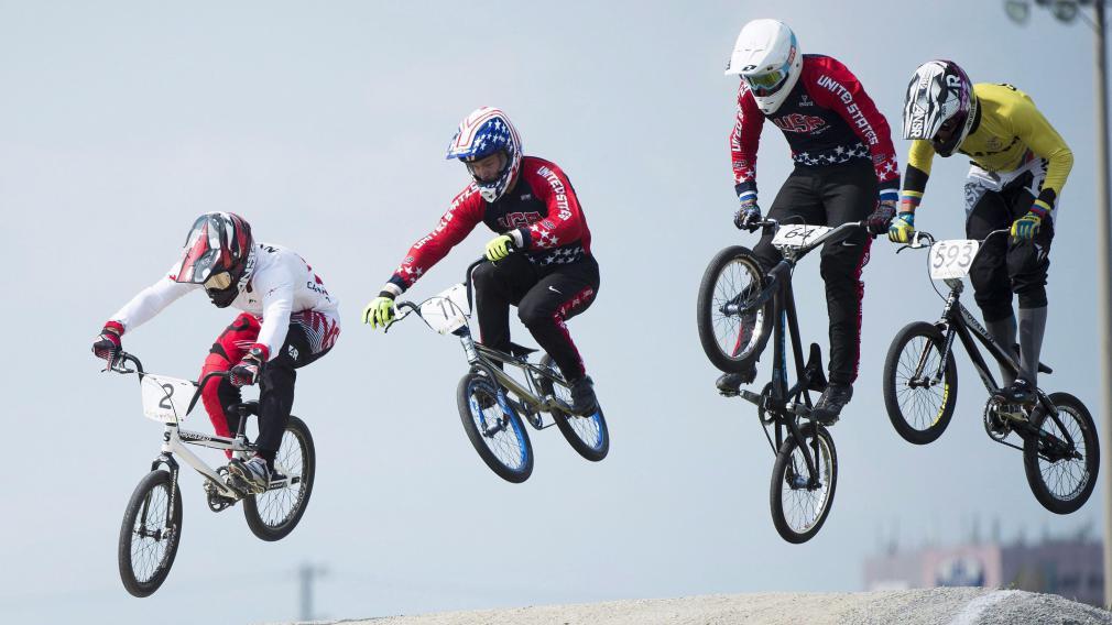 Tory Nyhaug fébrile de mener les cyclistes canadiens aux Mondiaux de BMX