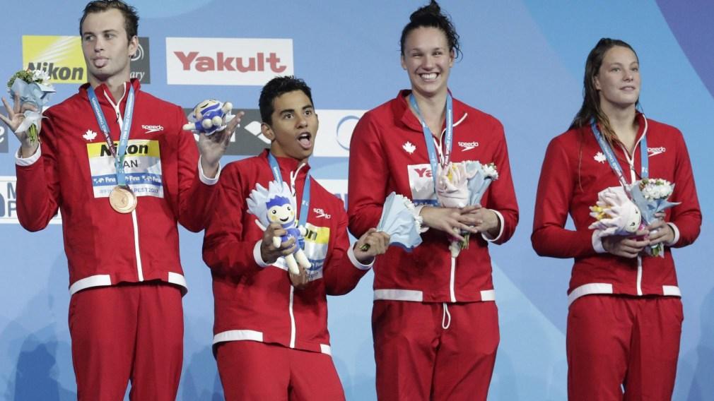 Mise à jour olympique: Équipe Canada excelle sur le sable, sur terre et dans l'eau