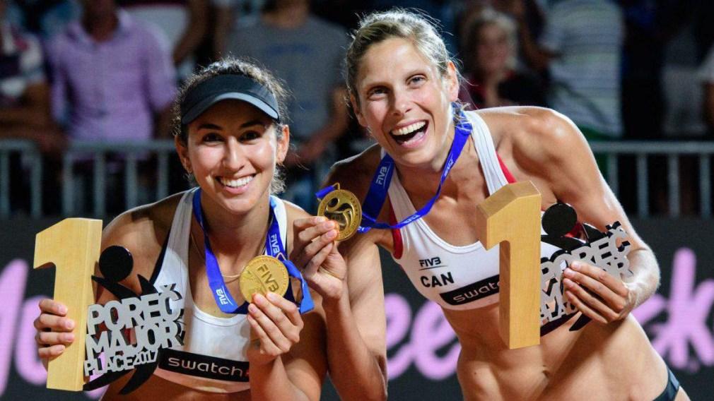Volleyball de plage: Les Canadiens veulent bâtir sur leurs récents succès aux Mondiaux