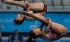 Abel et Imbeau-Dulac médaillés d'or au 3 m synchronisé mixte