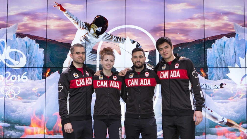 Nomination de l'équipe canadienne d'escrime pour Rio 2016