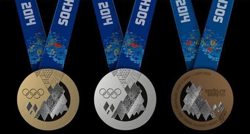 Médailles de Sotchi 2014. (Photo : Sotchi 2014)