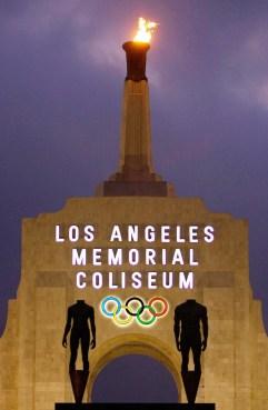 Le Memorial Coliseum de Los Angeles. (AP Photo/Damian Dovarganes, File)