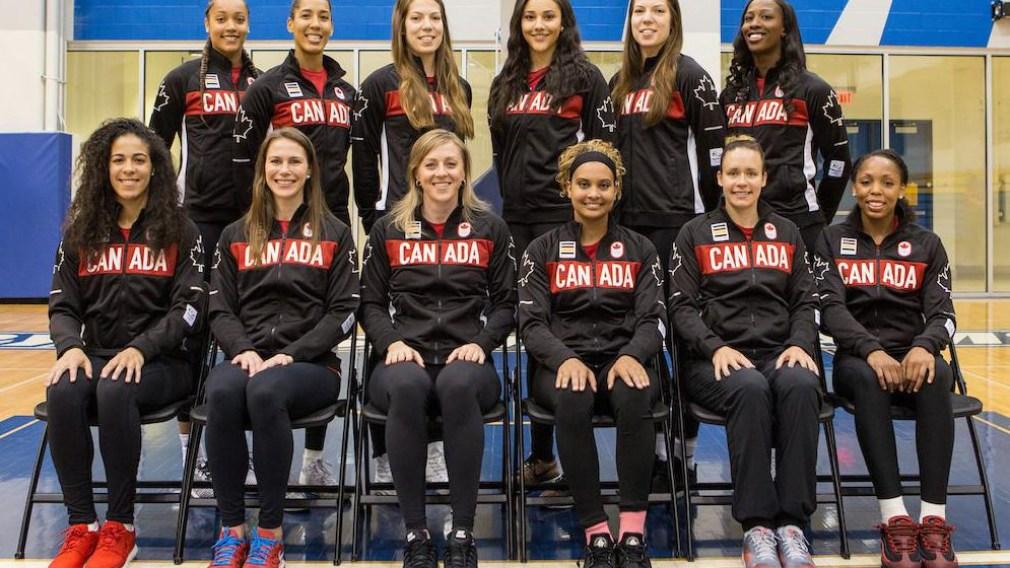 Nomination de l'équipe canadienne de basketball féminin pour Rio 2016
