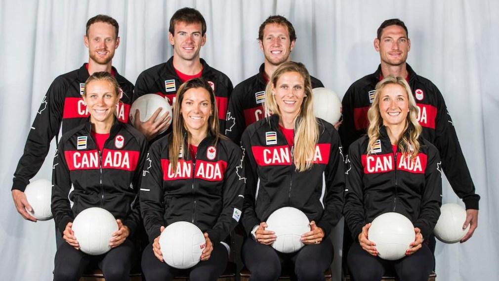 Nomination de l'équipe canadienne de volleyball de plage pour Rio 2016